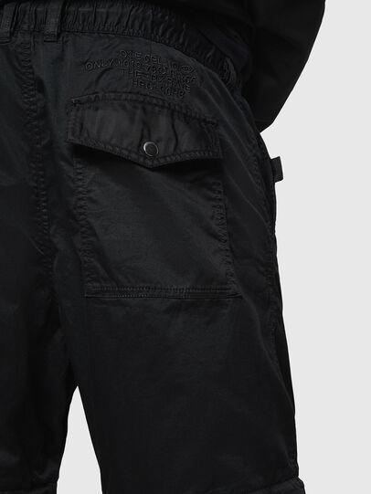 Diesel - P-CASHORT, Black - Pants - Image 3