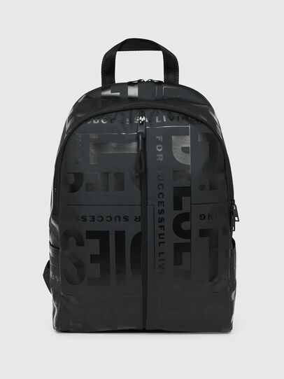 Diesel - X-BOLD BACK, Black - Backpacks - Image 1
