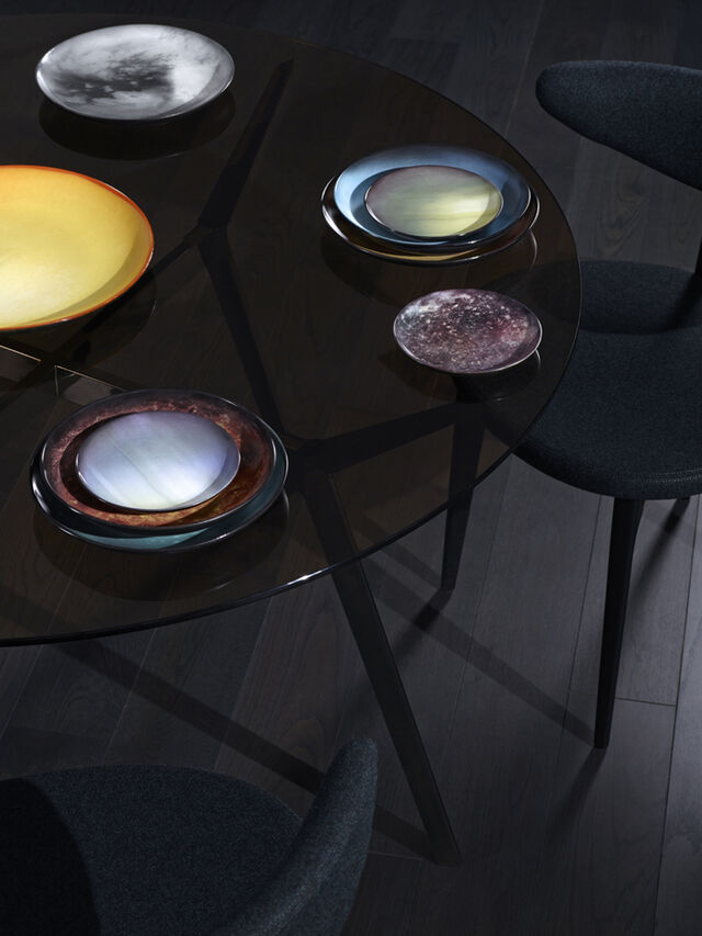 Living 10824 COSMIC DINER, Blue - Plates - Image 2