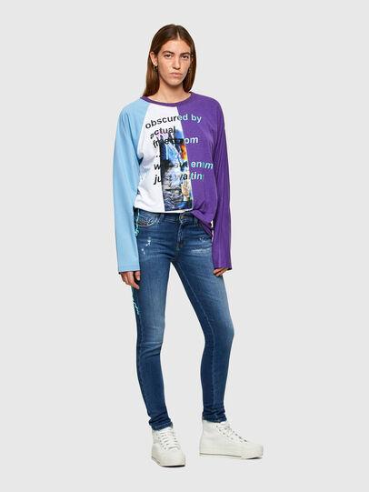 Diesel - Slandy 009PU, Medium blue - Jeans - Image 5