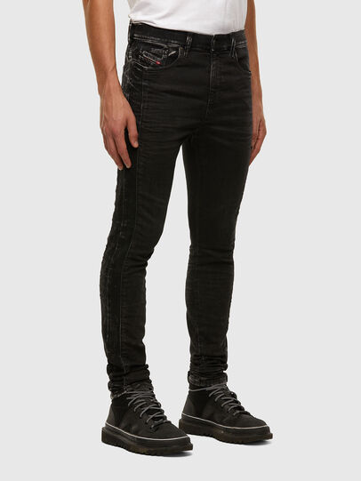 Diesel - D-REEFT JoggJeans® 009FY, Black/Dark grey - Jeans - Image 6