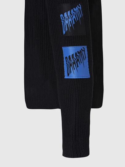 Diesel - K-SIMON, Black - Knitwear - Image 5