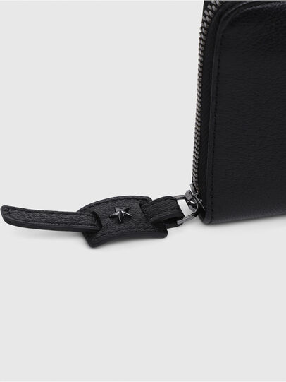 Diesel - 24 ZIP, Black - Small Wallets - Image 4
