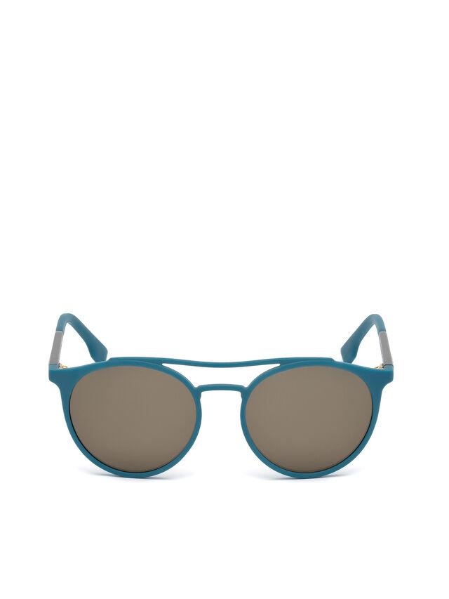 Diesel - DM0195, Blue - Sunglasses - Image 1