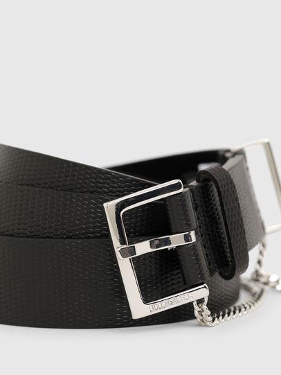 Diesel - B-MALIER, Black - Belts - Image 4