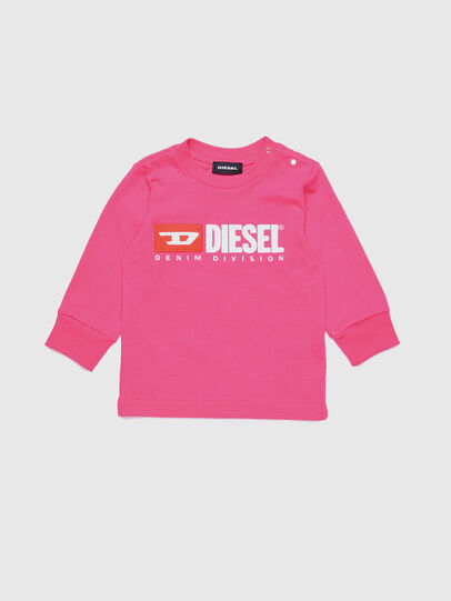 Diesel - TJUSTDIVISIONB ML, Hot pink - T-shirts and Tops - Image 1