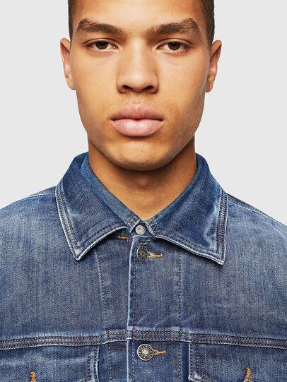Diesel - NHILL-TW, Blue Jeans - Denim Jackets - Image 3