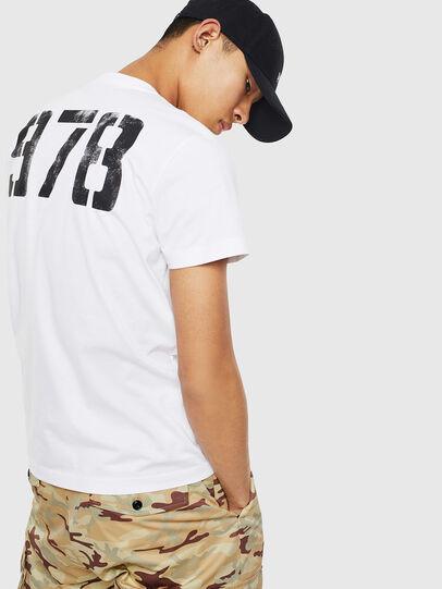 Diesel - T-DIEGO-S2, White - T-Shirts - Image 2