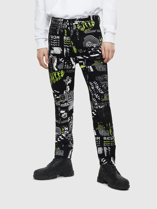 D-Vider 009BC, Black - Jeans