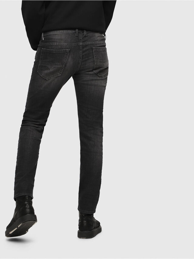 Diesel - Thommer 0687J, Black/Dark grey - Jeans - Image 2