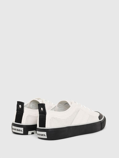 Diesel - S-ASTICO LOW LOGO, White - Sneakers - Image 3