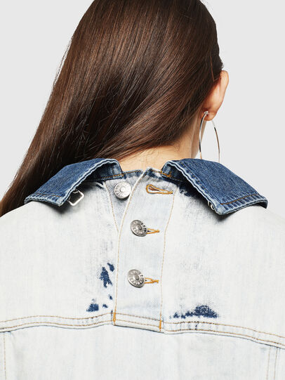 Diesel - DE-CATE, Light Blue - Denim Jackets - Image 5
