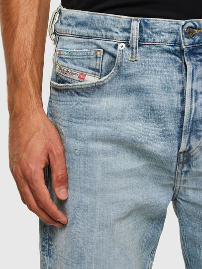 Diesel - D-Vider 009JR, Light Blue - Jeans - Image 4
