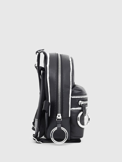 Diesel - ZANE', Black/White - Backpacks - Image 3