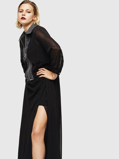 Diesel - D-RAHAN-A, Black - Dresses - Image 4
