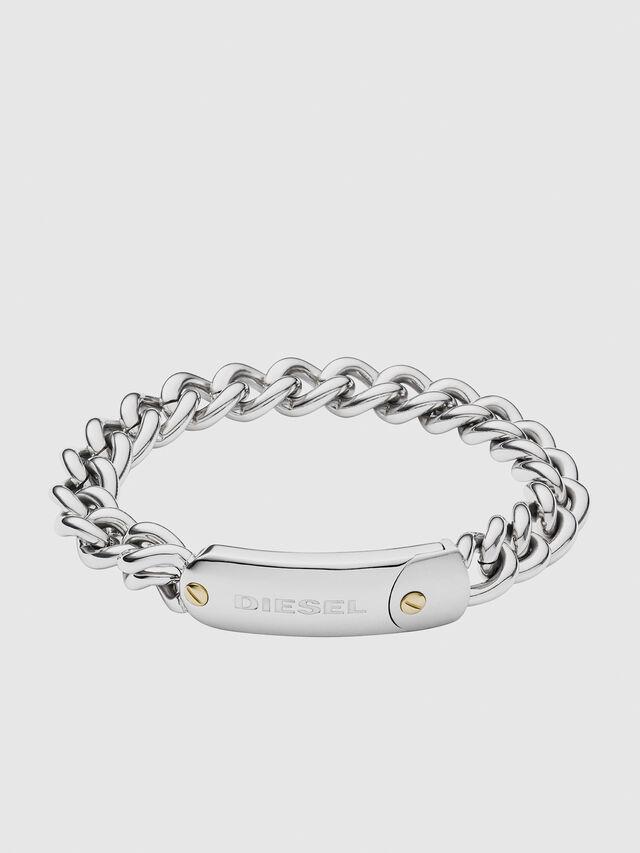 Diesel - DX1114, Silver - Bracelets - Image 1