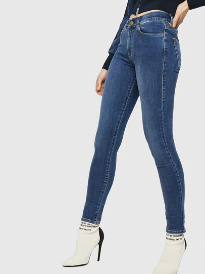 Diesel - D-Roisin 085AB, Medium blue - Jeans - Image 4