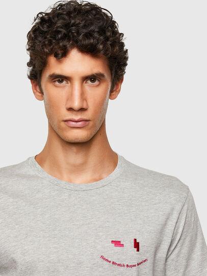 Diesel - T-DIEGOS-N28, Grey - T-Shirts - Image 3