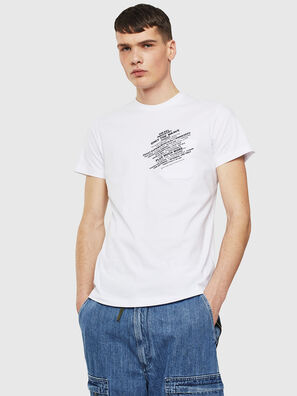 T-WORKY-S1, White - T-Shirts