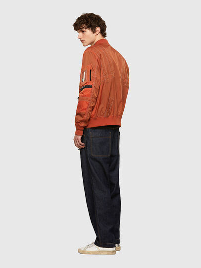Diesel - J-OLIVE, Orange - Jackets - Image 5