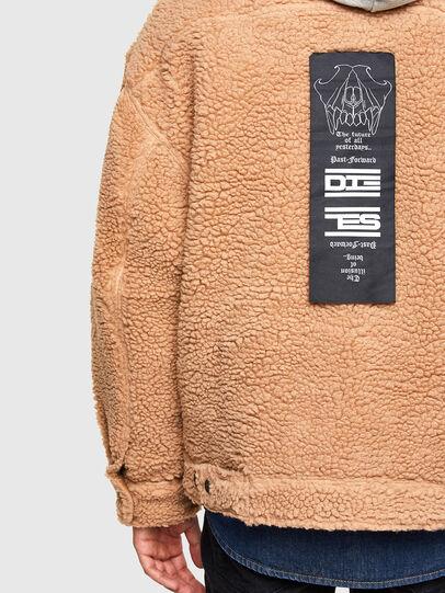 Diesel - W-GARY, Beige - Winter Jackets - Image 4