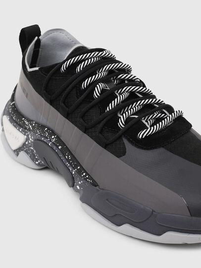 Diesel - S-KIPPER BAND, Gray/Black - Sneakers - Image 6