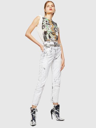 Diesel - T-DARIA-YB, White - T-Shirts - Image 5