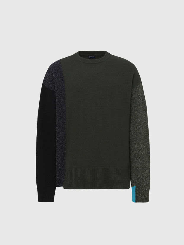 K-MOSES, Military Green - Knitwear