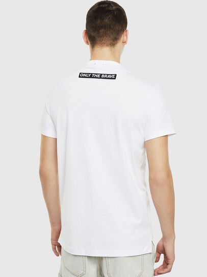 Diesel - T-WORKY-SLITS, White - T-Shirts - Image 2