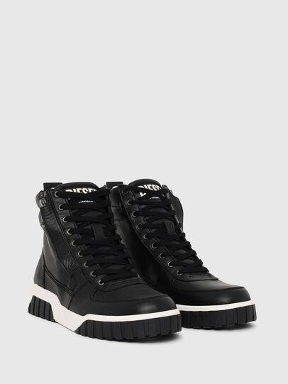 Diesel - S-RUA MID, Black - Sneakers - Image 2