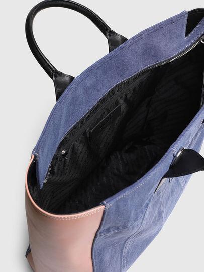 Diesel - LEENA L, Blue/Pink - Shopping and Shoulder Bags - Image 4