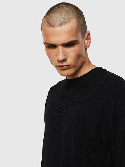 Diesel - K-LETO, Black - Knitwear - Image 3