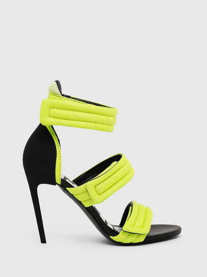 Diesel - SA-SLANTY HST, Yellow Fluo - Sandals - Image 1