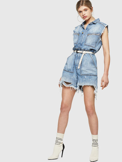 Diesel - DE-BETTE, Blue Jeans - Jumpsuits - Image 5