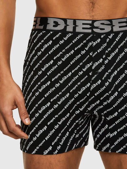 Diesel - UMLB-NUJI, Black - Pants - Image 3