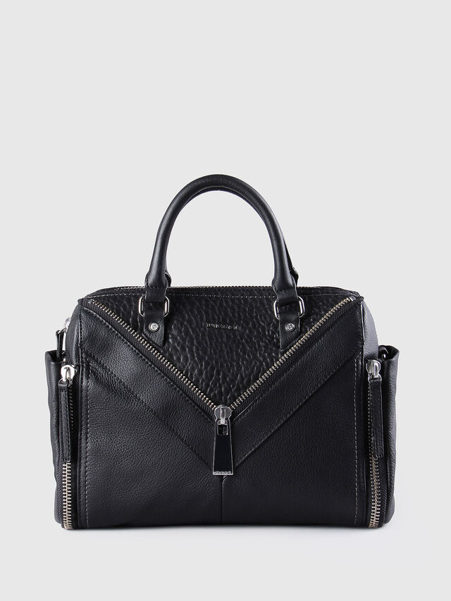 Diesel LE-TRASY, Black Leather - Satchels and Handbags - Image 1