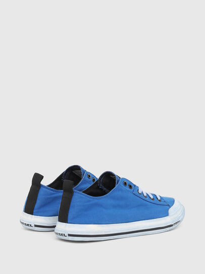 Diesel - S-ASTICO LOW CUT, Blue - Sneakers - Image 3