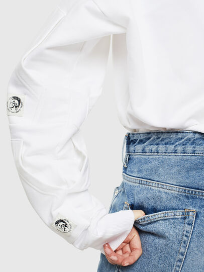 Diesel - S-ALBY-POCKETS, White - Sweaters - Image 4