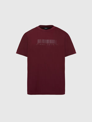 T-JUST-SLITS-X87, Red - T-Shirts