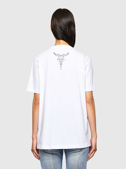 Diesel - CL-T-JUST-O, White - T-Shirts - Image 4
