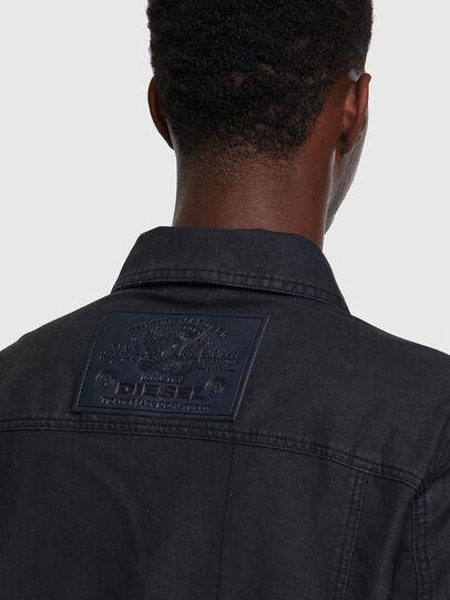 Diesel - D-COSNIL-SP JOGGJEANS, Black - Denim Jackets - Image 3
