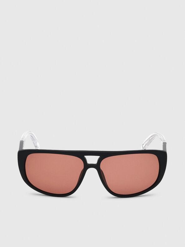 DL0300, Black/White - Sunglasses
