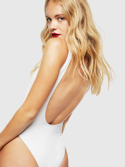 Diesel - CC-FLAMNEW-COLA, White - Swimsuits - Image 2