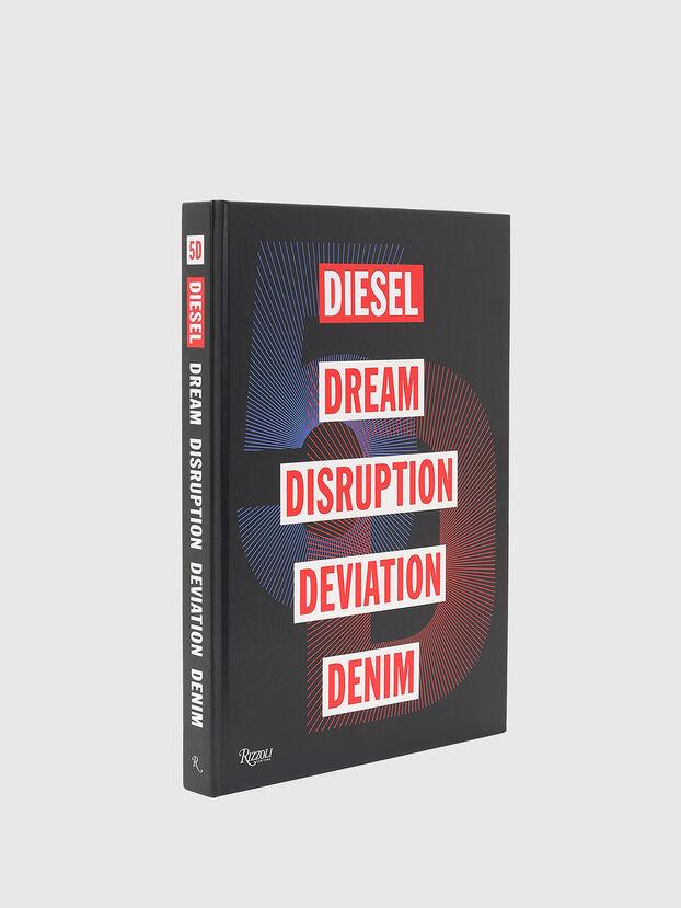 5D Diesel Dream Disruption Deviation Denim, Black - Books