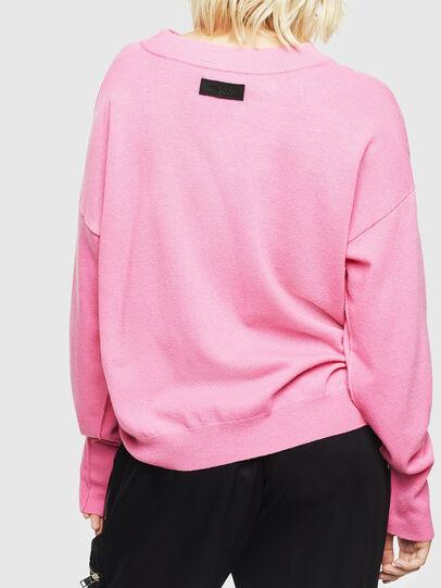 Diesel - M-CRISTAL, Pink - Knitwear - Image 2