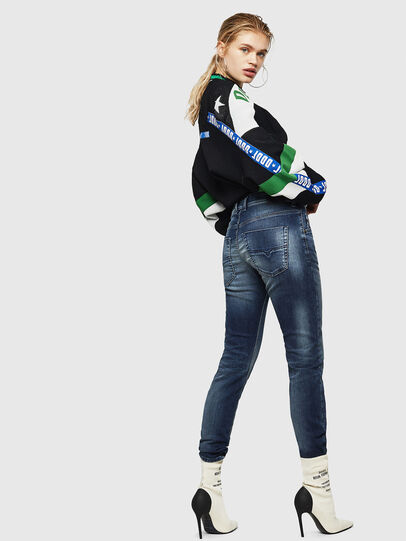 Diesel - Krailey JoggJeans 069HF, Dark Blue - Jeans - Image 5