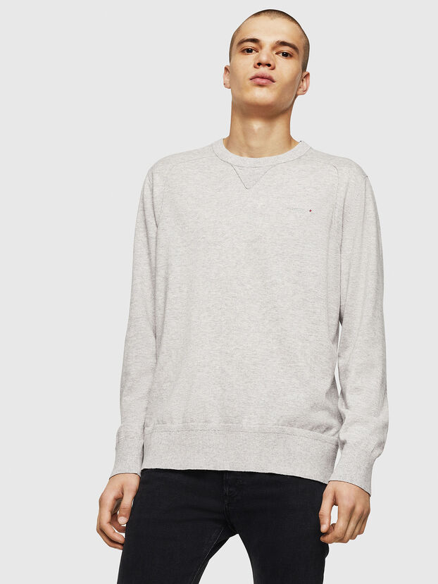 K-LAUX, Light Grey - Knitwear