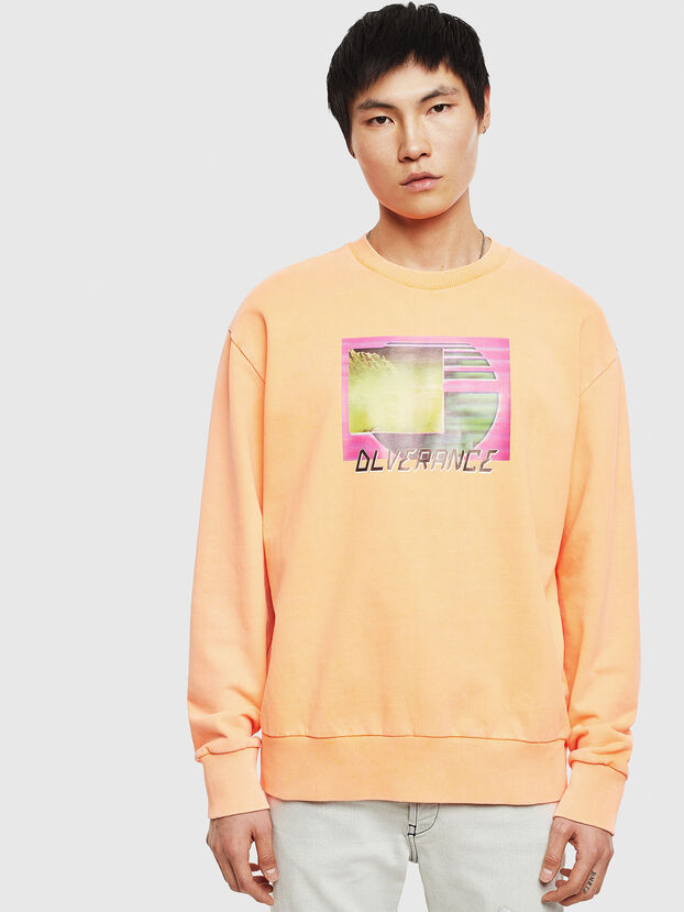 S-BIAY-FLUO, Orange - Sweaters