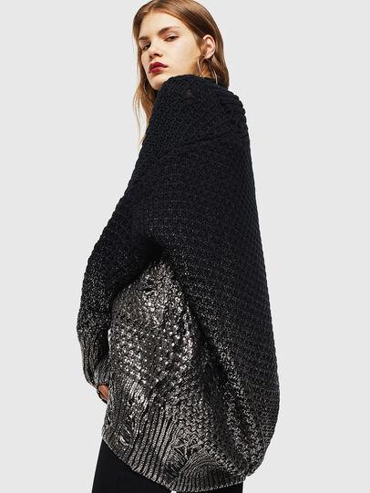Diesel - M-MIKO, Black/Silver - Knitwear - Image 4
