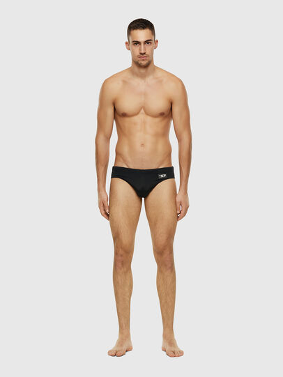 Diesel - BMBR-JACK, Black - Swim briefs - Image 1